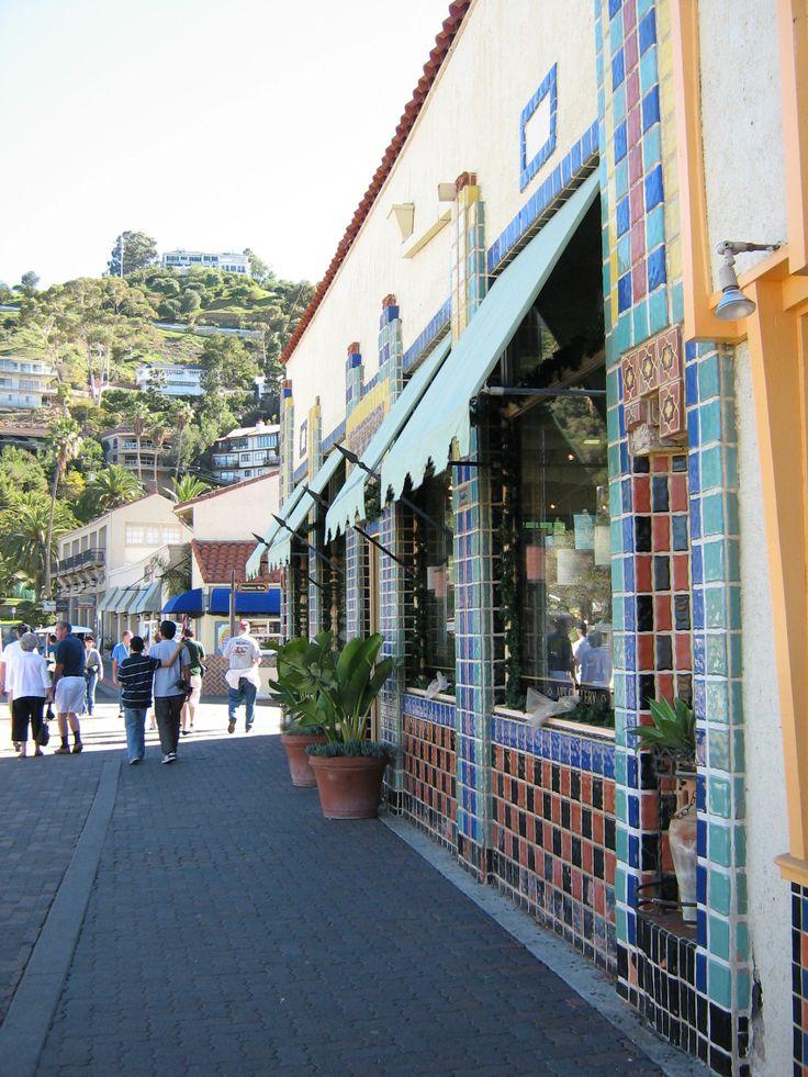Catalina- Avalon California, Catalina Island - this was a Mexican food restaurant. really good food.