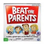 Beat The Parents Board Game- Kids have an even chance to win and parents see their kids build teamwork, so everyone wins this trivia game