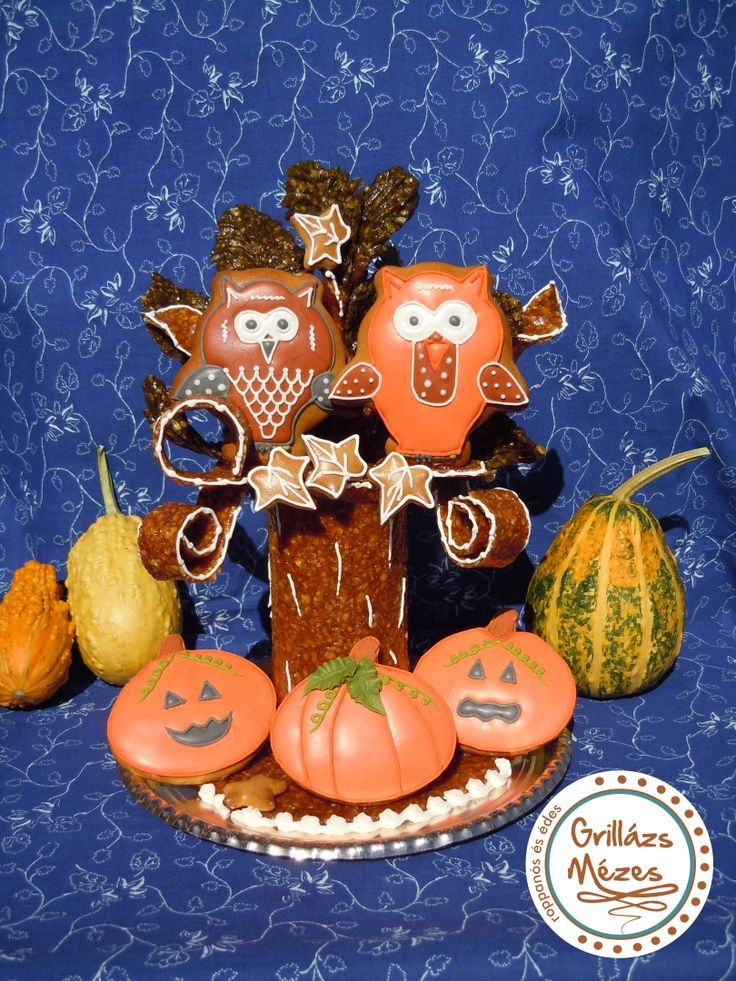 Halloweeni bagolyfa