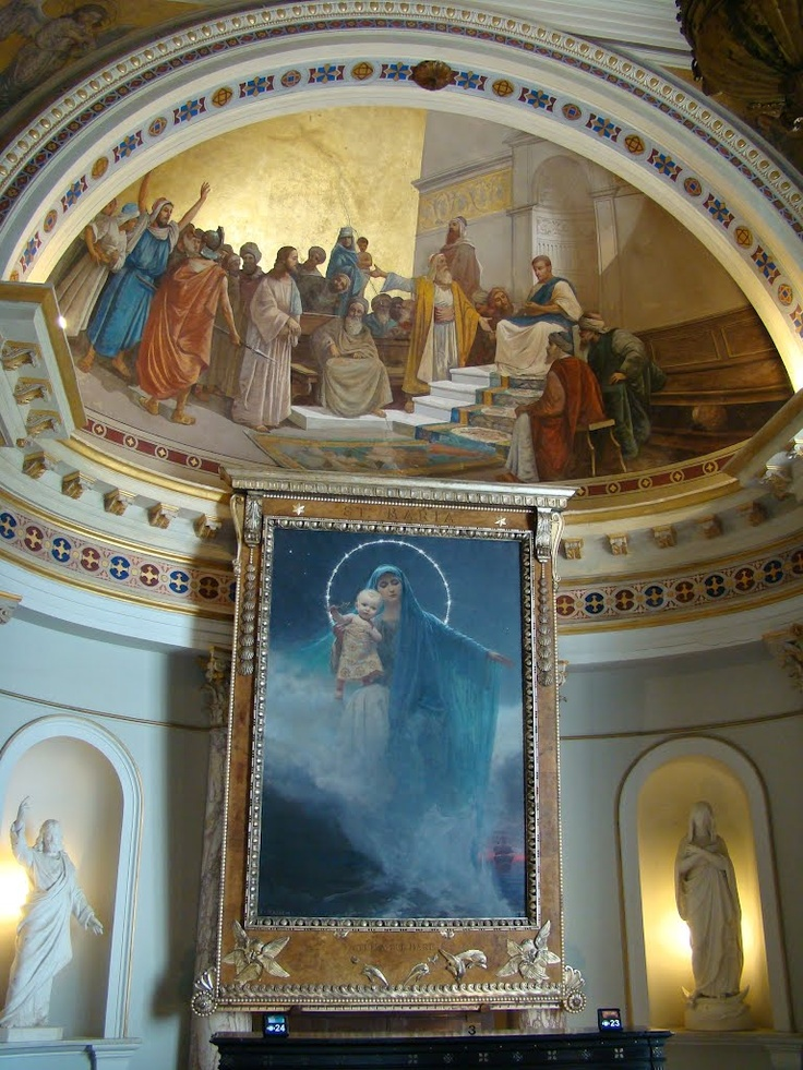 The Chapel of Empress Elisabeth, Achilleion Palace, Corfu Greece