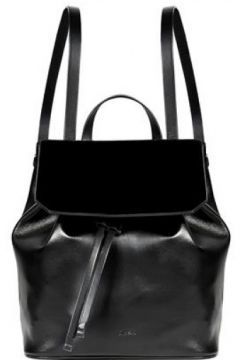 Cavallino Kadın Deri Sırt Çantası Siyah