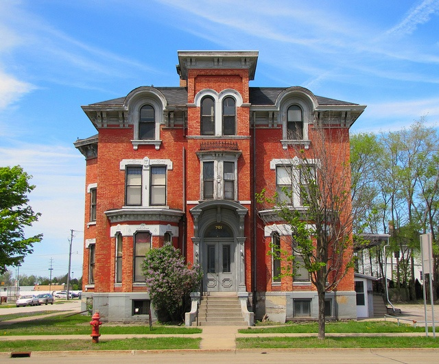 Italianate style Victorian home on Center Ave. in Bay City, Michigan