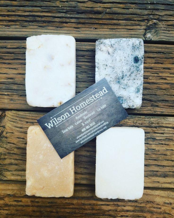 Homemade Soap Set, Tea Tree & Charcoal Soap, Lavender Soap