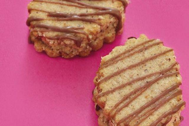 Vídeňské oříškové dortíčky