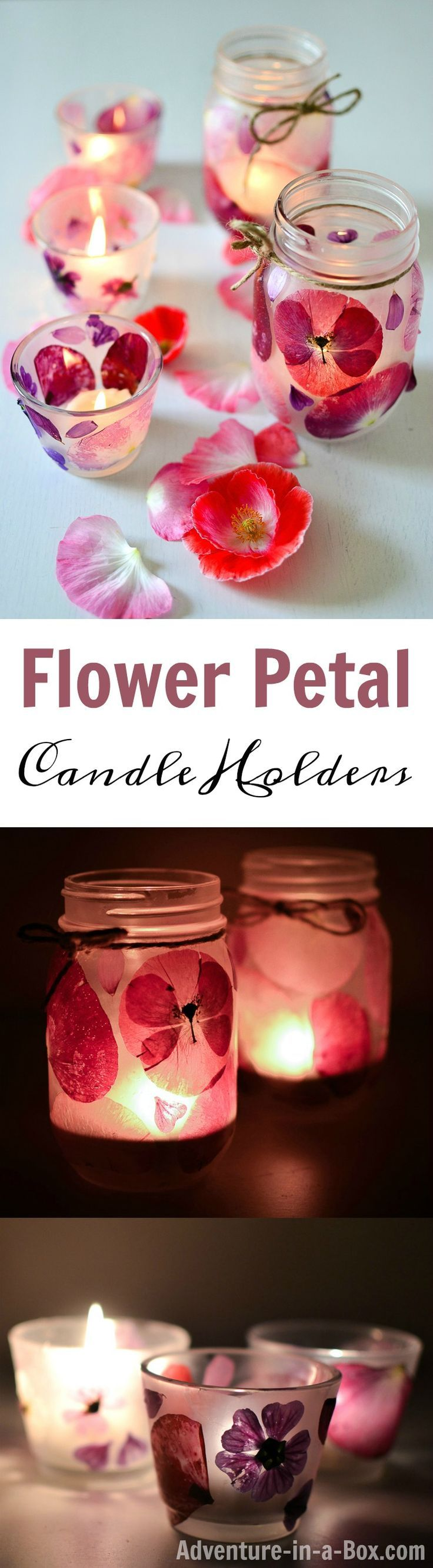 Beautiful flower craft for kids and adults to create together for flower-themed…
