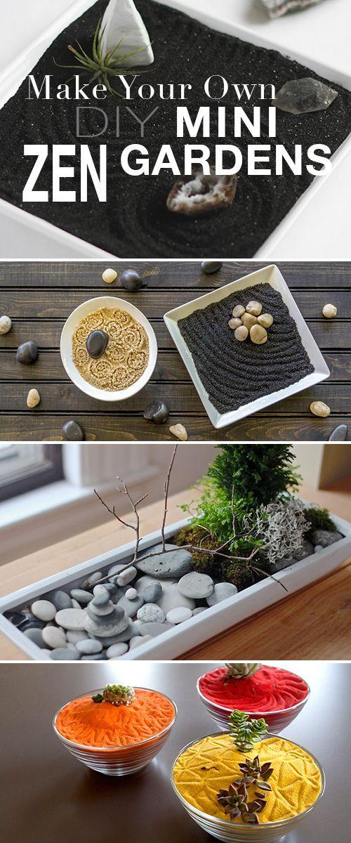 Make Your Own Diy Mini Zen Gardens Mini Zen Garden 400 x 300