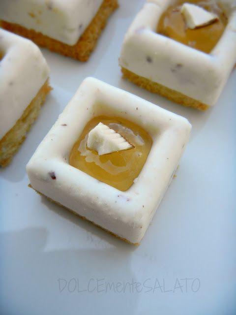 DOLCEmente SALATO: Mini savarin ai formaggi con gelatina di birra