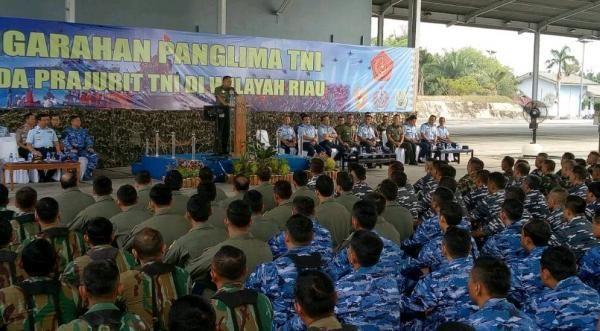 Jenderal Gatot: Prajurit Jangan Nodai Kepercayaan Rakyat