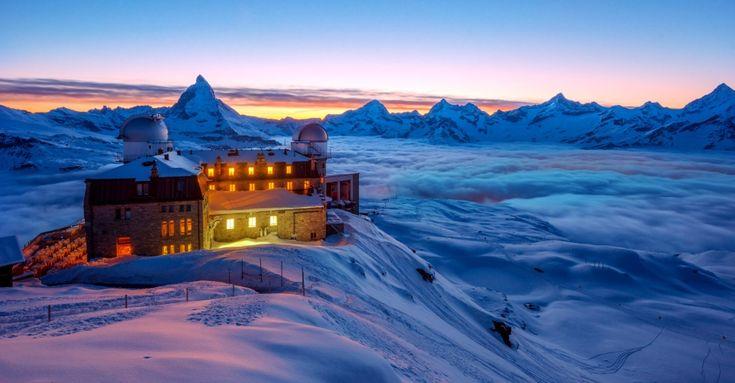 Von Arosa bis Zermatt - 15 exklusive Wintersportorte in den Alpen