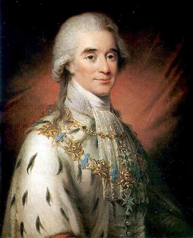 Count Axel de Fersen of Sweden, close friend of Marie Antoinette