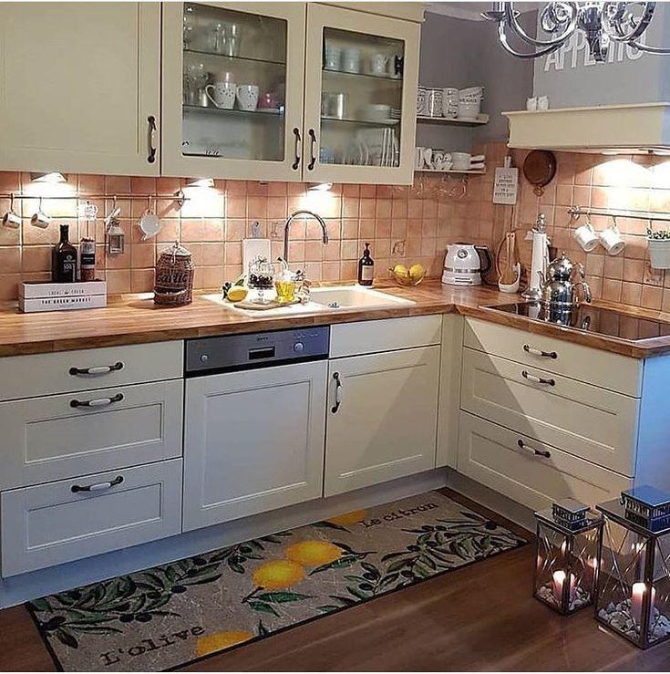 المطبخ الاكثر اناقة On Instagram صباح الخير احب لون هالرخام مع الجدار للمطبخ Kitchen Interior Moroccan Decor Living Room Pantry Design