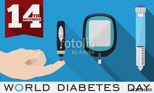 Elements for Glucose Control and Measurement Commemorating World Diabetes Day