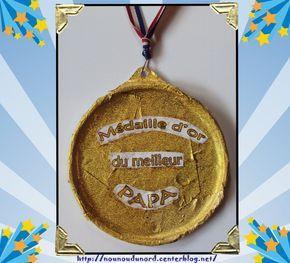 Médaille d'or du meilleur papa pour la Fête des pères http://nounoudunord.centerblog.net/1144-medaille-or-du-meilleur-papa-pour-la-fete-des-peres