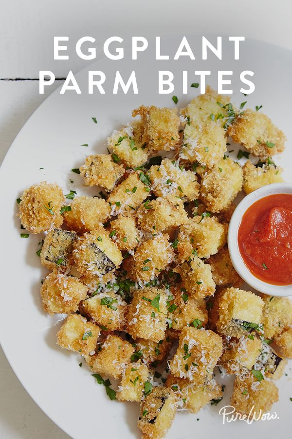 Eggplant Parm Bites