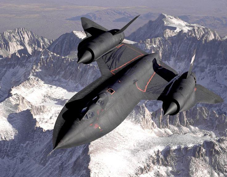 Lockheed SR-71 Blackbird #Breitling