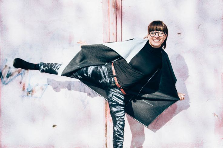 Kopf über Kragen durch den Donnerstag #outfit #fashion #fashionblogger #ootd #modiami #zdea #turtleneck #vest #fall #smile #fun #happy #black