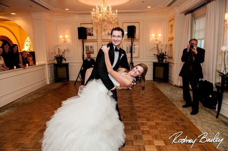 "Ellie and Danny's first dance at the The Hay-Adams was to ""Everything"" by Michale Buble! Photography by Photojournalism by Rodney Bailey"