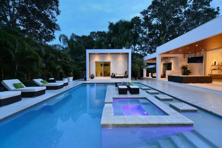 39 best extreme homes images on pinterest for Luxury pool area