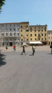 The town has many lovely Piazzas