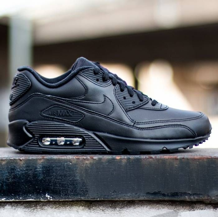 Nike Air Max 90 Leather Black R$ 323,91