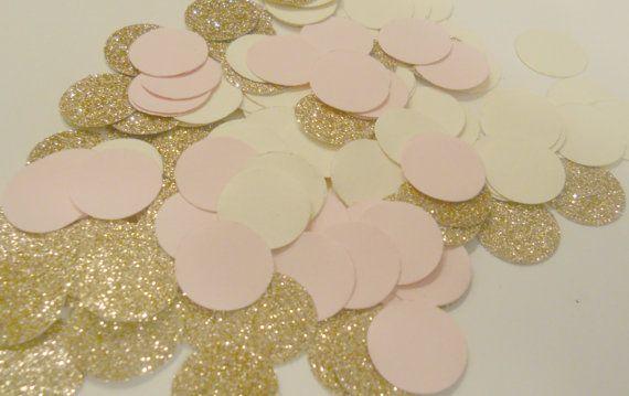 225 confettis métalliques Rose Gold fard à par SignsationalSayings
