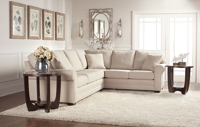 Kensington Two-Piece Sectional | Living Room Decor