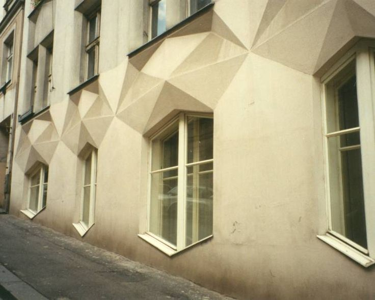 Sample of Prague's Cubist architecture