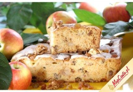 Ciasto Orzechowe z Jabłkami