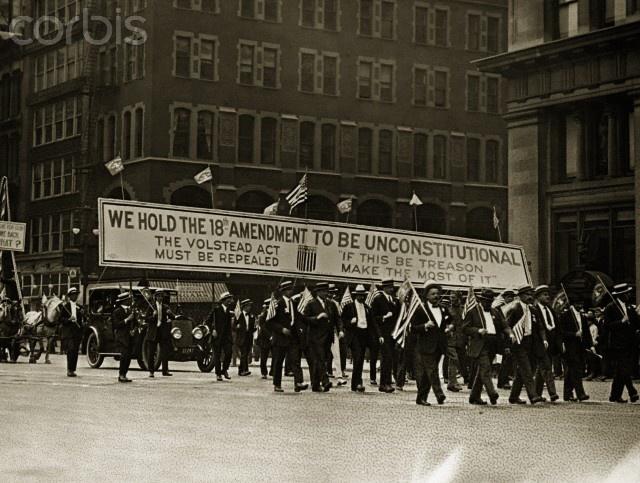 Prohibition essays