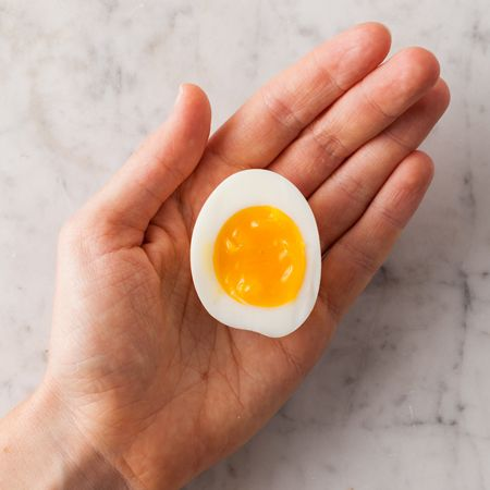 Instructions for boiling the perfect egg—with the white just set and an almost runny yolk—to put in ramen or just eat straight