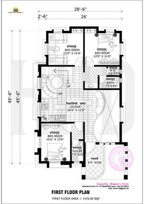 Free Floor Plan Of 2365 Sq Ft Home Plan Pinterest Floor Plans