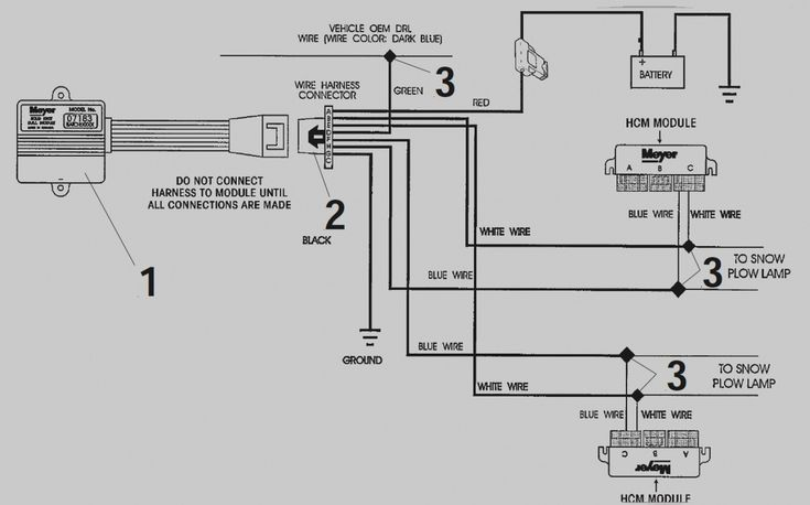 Meyers Snow Plow Wiring Diagram E47 Best Of In 2020 Diagram Snow Plow Wire