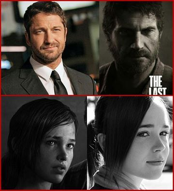 Last Of Us Movie Cast To Feature '300' Star Gerard Butler And 'Juno' Actress Ellen Page As Joel And Ellie