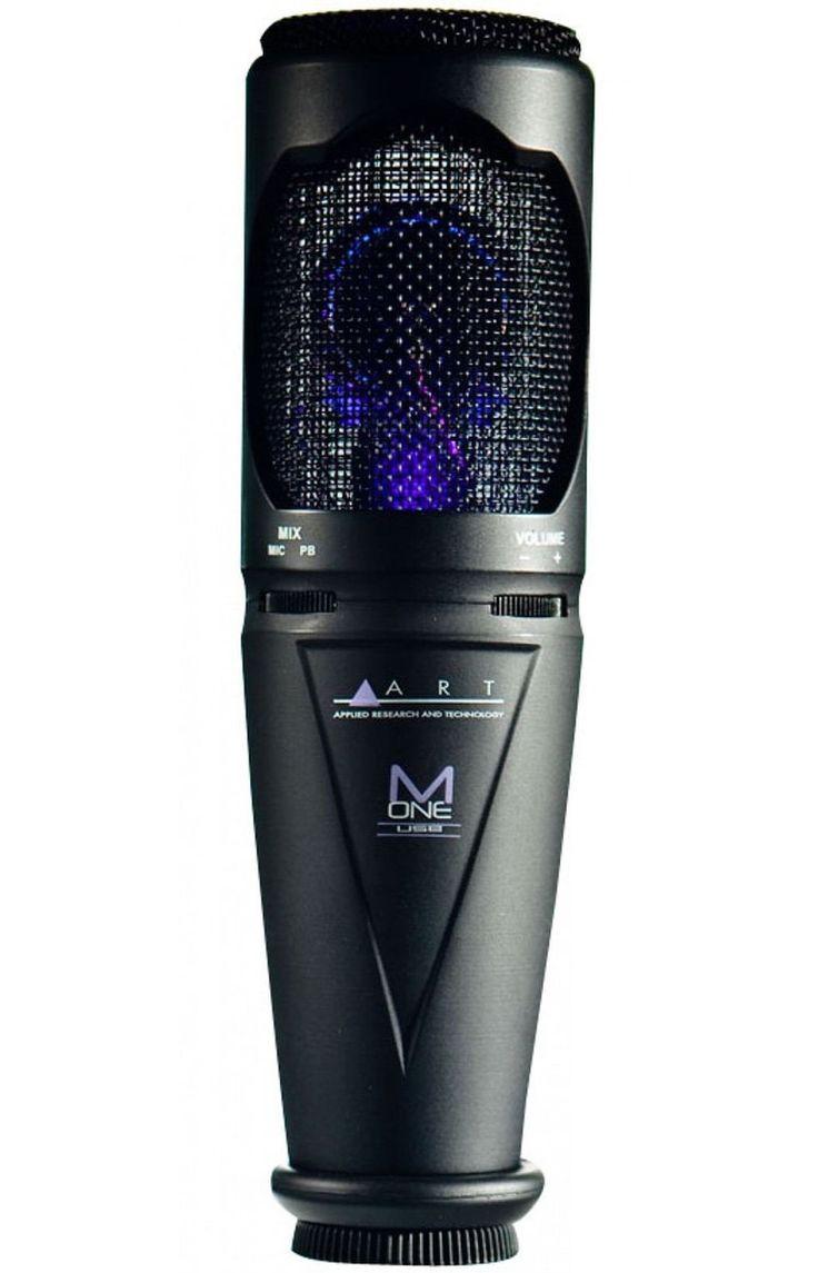 ART M-OneUSB Microphone Studio Quality Cardioid Capsule Standmount 10 USB New