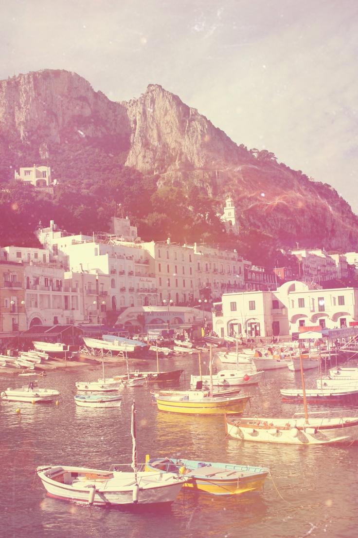 Capri, Photo via Barbara Jane Vintage, Etsy