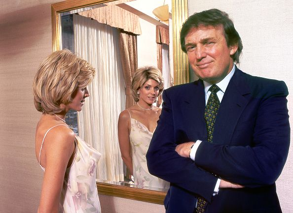 Donald Trump and Marla Maples, Harry Benson Archive, 1996