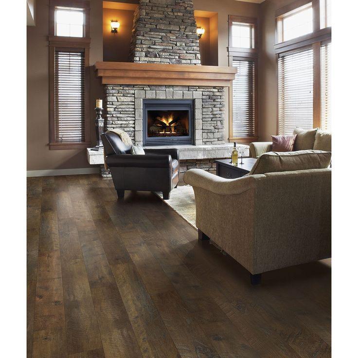 Traditional Living Reclaimed Chestnut Premium Laminate Flooring   Samu0027s Club
