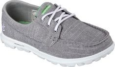 Women's Skechers On the GO Mist Boat Shoe - Gray with FREE Shipping & Exchanges. Iconic design and premium materials fuse with innovative SKECHERS GOimpulse