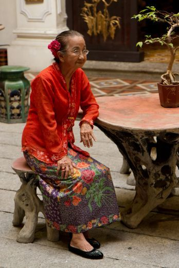 Peranakan hostess