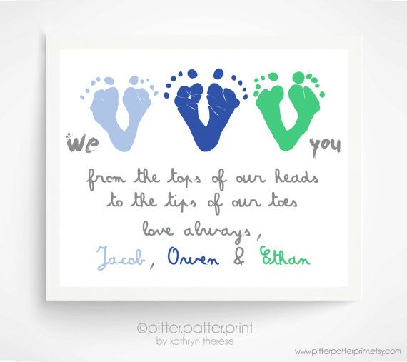 Best 25 personalized gifts for dad ideas on pinterest gifts for fathers day gift from triplets children personalized gift for grandpa we love you negle Gallery