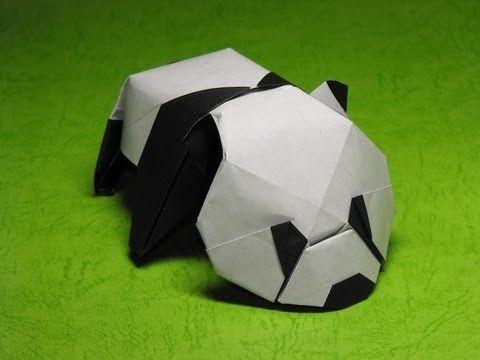 Origami Baby Panda by Jacky Chan.m4v - YouTube
