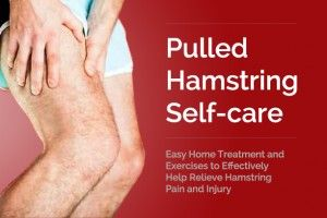 Hamstring Pull: Treatment at Home