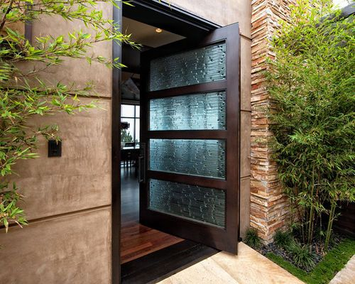 222 best Porte images on Pinterest Entry doors, Architecture and - poser porte d entree