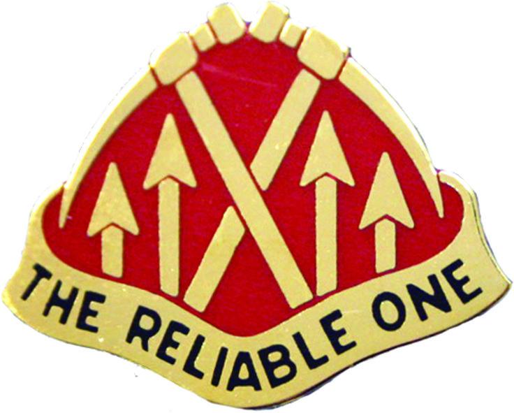 192 Maintenance Battalion Unit Crest (The Reliable One)