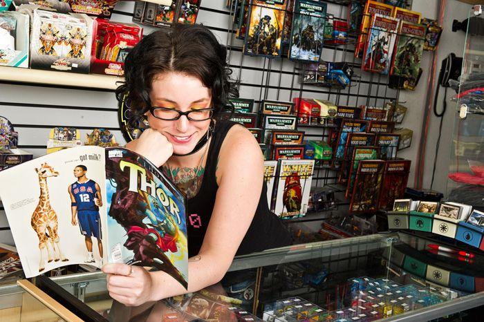 Zelda - The Comic Book Store
