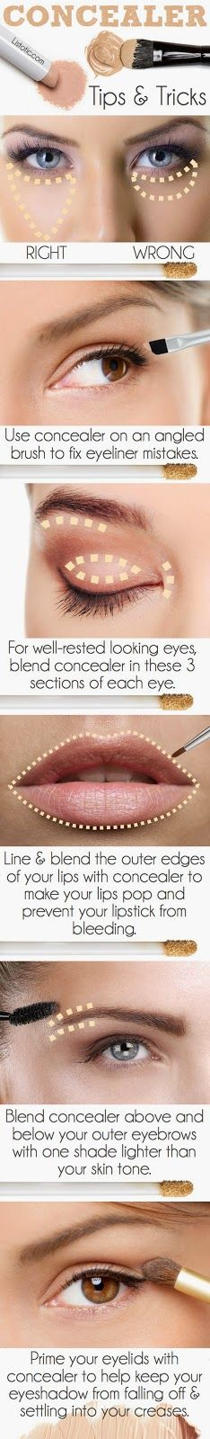 Knowing How To Use Your Concealer