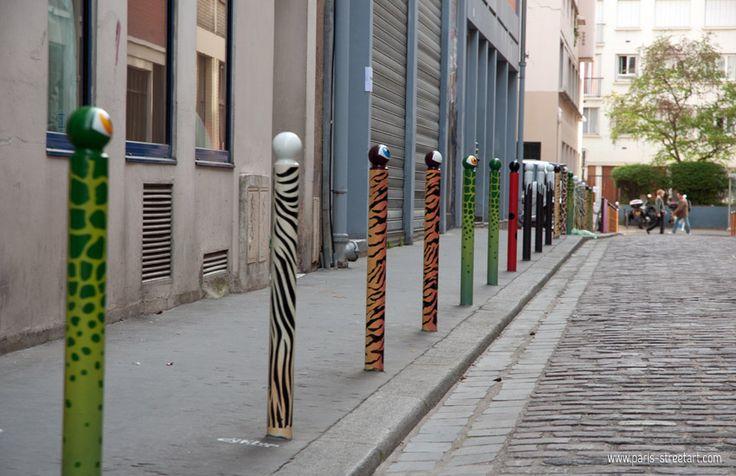 Cité de l'Ameublement 75011 - #Parigi #StreetArt LeCyclop - www.viviparigi.it