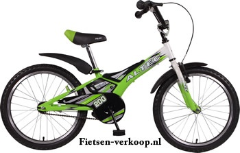 Jongensfiets Altec Laser Groen 20 Inch | bestel gemakkelijk online op Fietsen-verkoop.nl