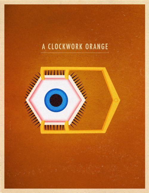 A Clockwork Orange: Movie Posters, Orange 1971, Orange Mécaniqu, A Clockwork Orange, Poster Frame-Black, Alternative Movies, Ipod, Movies Poster, Minimalist Poster