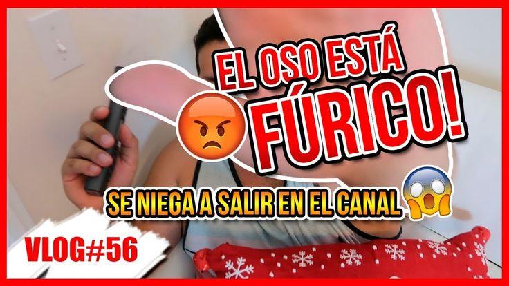 REACCIÓN DE OSO A LA BROMA DE LA CUCARACHA!!!  *VLOGMAS #19* 19 Dic 2017 - YouTube  Pad: En eaten video Karie Angel dice una GROSERIA 10:47